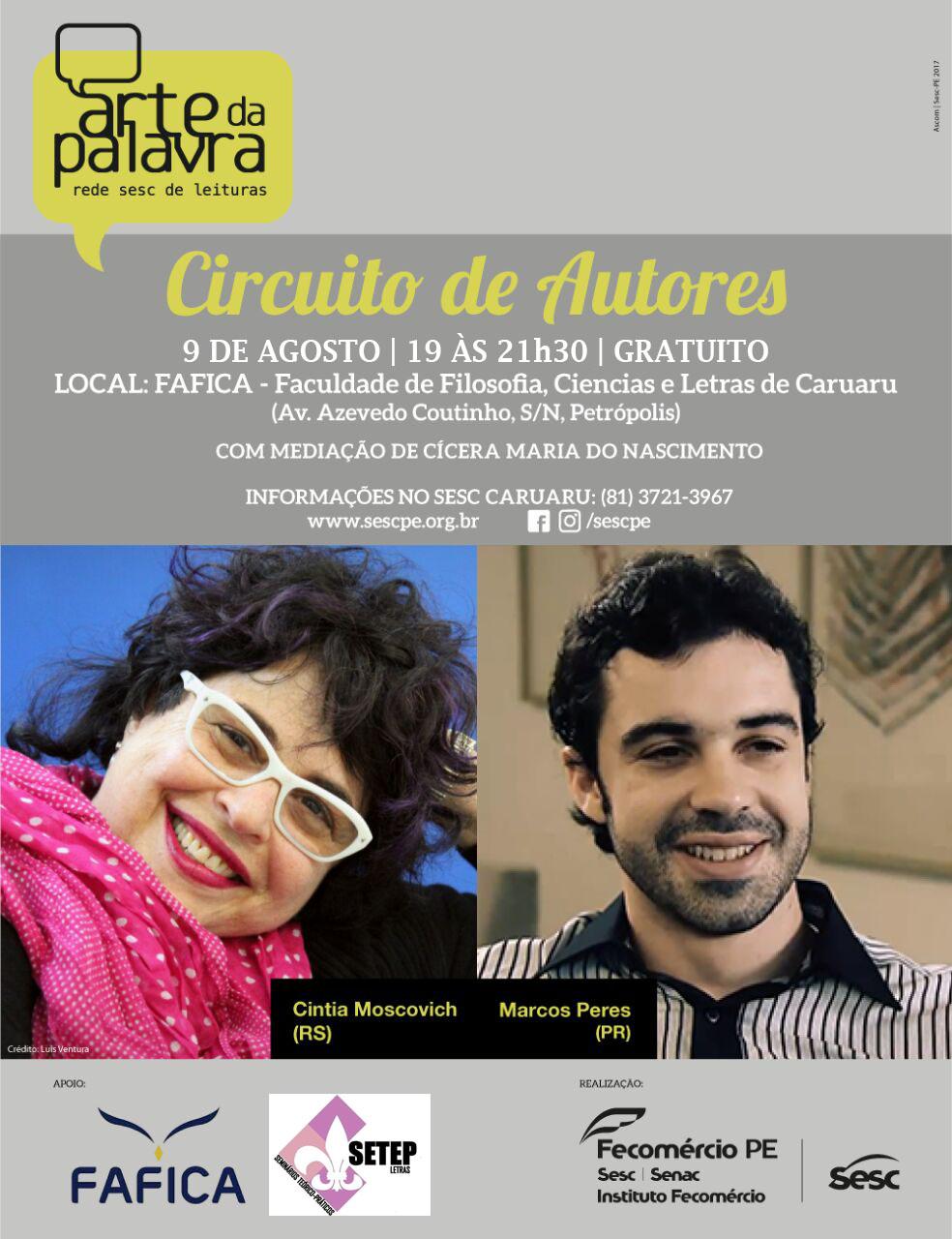 CIRCUITO GRANDES AUTORES 09 DE AGOSTO