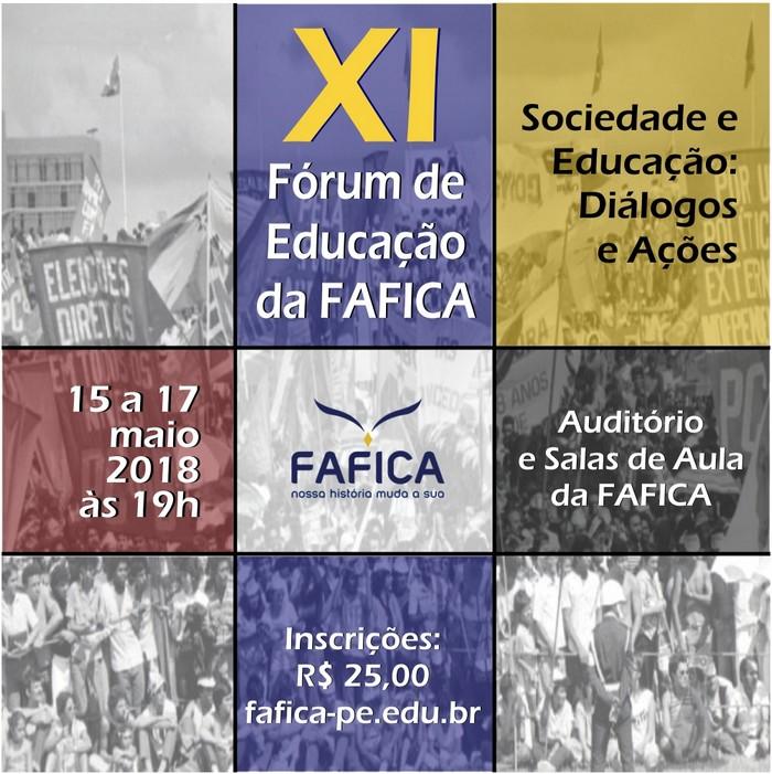 2018-04-16 Fórum de Educação da FAFICA