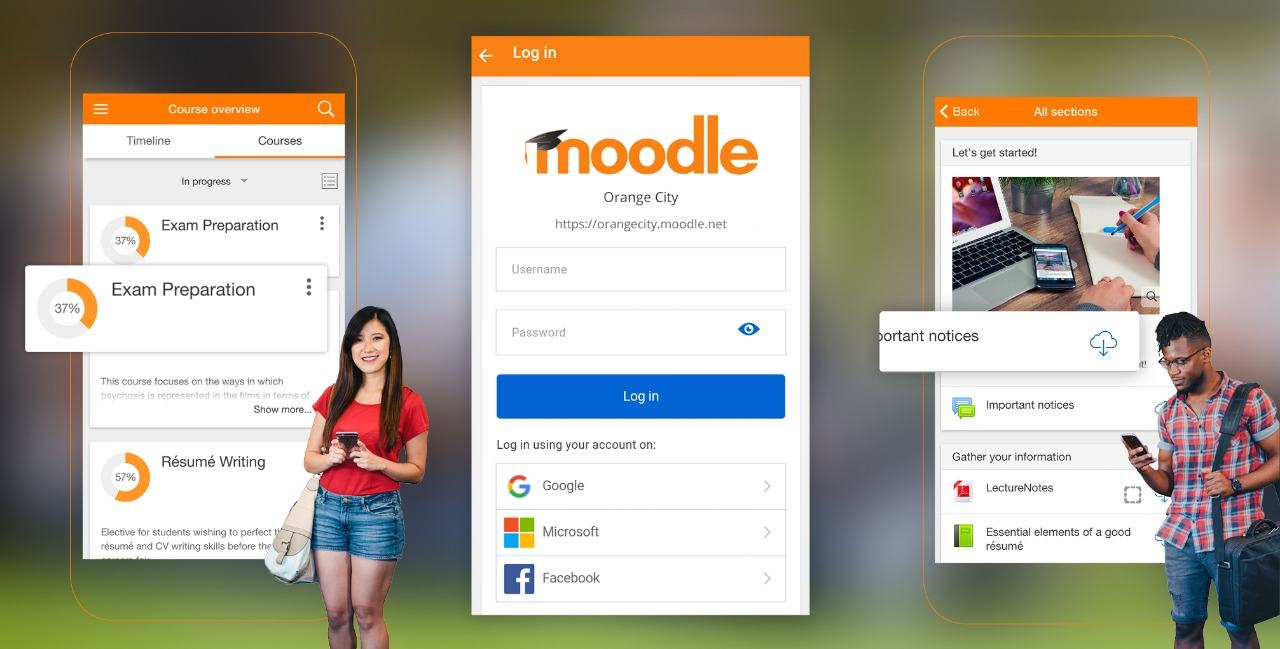 Banner moodle android